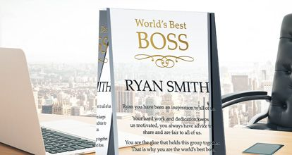 Boss Appreciation Wording Ideas