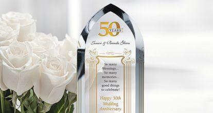 50th Anniversary Wording