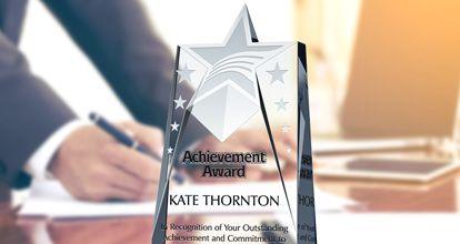 Achievement Award Wording