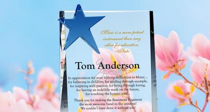 Appreciation Plaques