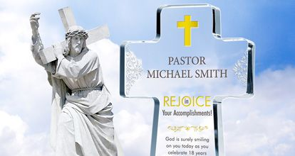 Pastor Gift Plaques