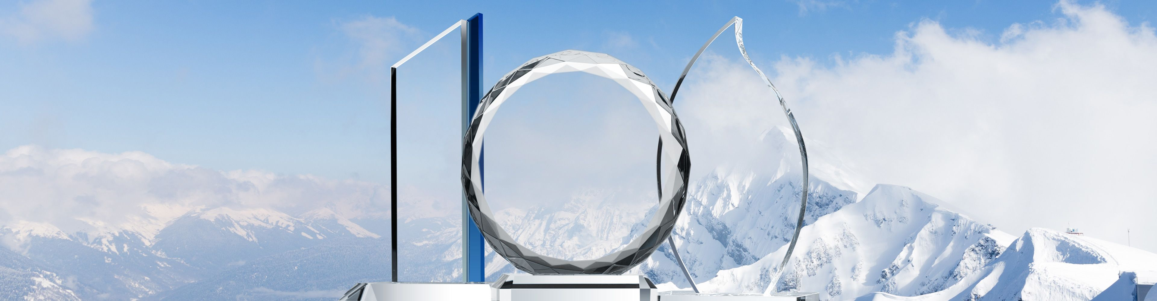 Classic-Style Crystal Award Plaques - Banner 1