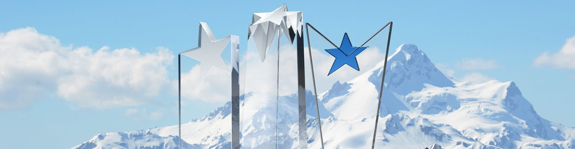 Custom Crystal Star-Shaped Trophy Plaques & Awards - Banner 1