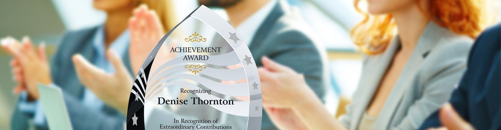 Custom Achievement Awards & Plaques for Businesses - Banner 1
