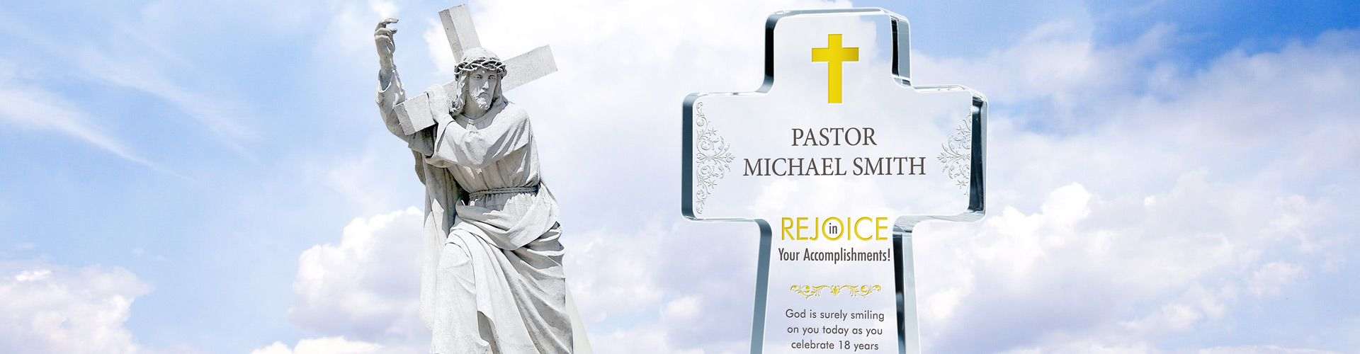 Personalized Pastor Gifts and Religious Plaques - Banner 1