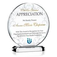 Circle Appreciation Award Plaque