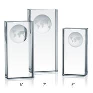 Crystal Globe Pillar Award