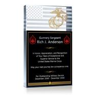 Military Service Plaque