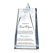 Star Shaped Boss Award Trophy