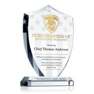 Police Officer Recognition Plaque