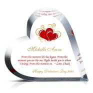 Crystal Heart Valentine Gift