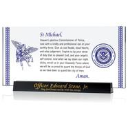 St Michael's Prayer Plaque