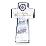 Police Graduation Prayer Gift Plaque