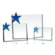 Crystal Star Service Plaques