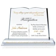 Special Teacher Recognition Plaque