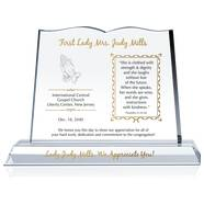 Pastor Wife Anniversary Plaque