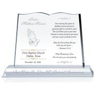 25th Pastoral Anniversary Gift Plaque