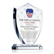 FDNY Academy Graduation Gift Plaque