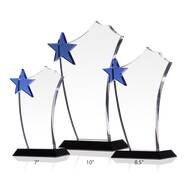 Blue Star Sail Award Plaques